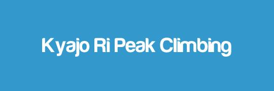 Kyajo-Ri-Peak-Climbing